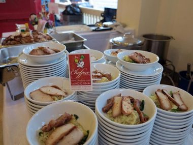 ซุ้มอาหาร-บะหมี่เกี๊ยวกุ้งหมูแดง