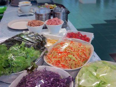 ซุ้มอาหาร-สลัดผักออแกนิค