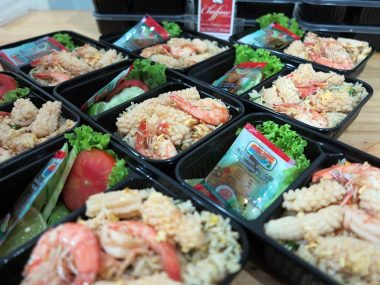 อาหารกล่อง-ข้าวผัดทะเล