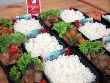 อาหารกล่อง-ปลากระพงผัดพริกไทดำ