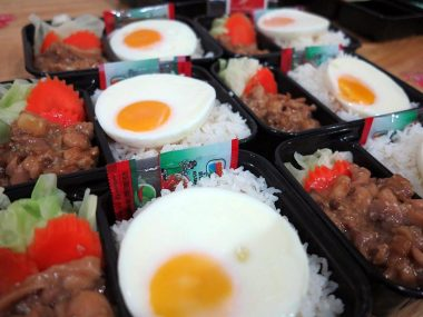 อาหารกล่อง-ไก่ผัดซอสเทริยากิ-ไข่ดาว